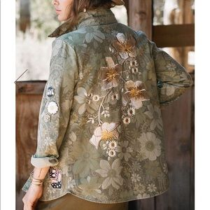 Spell and the Gypsy Eden Camo Jacket
